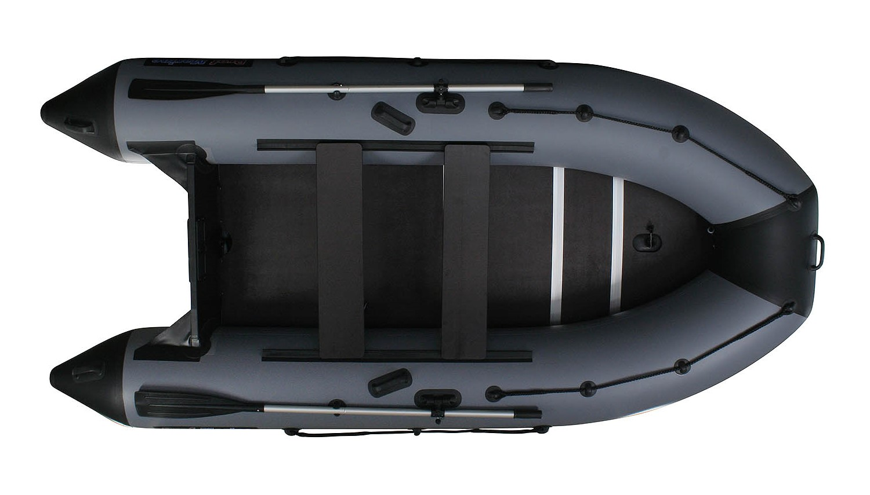 НОВИНКА!!! Надувная ПВХ лодка PM 370 CL, моторно-гребная, килевая